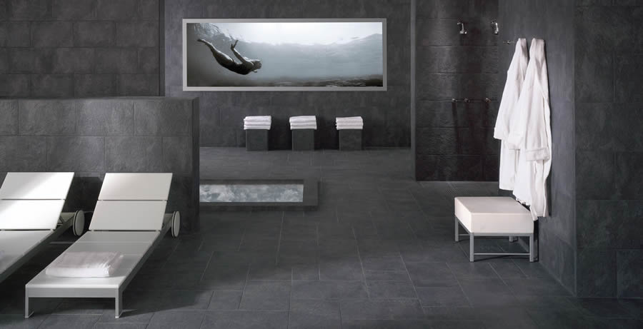 Badezimmer Platten Wand : badezimmer  schiefer badezimmer fliesen schiefer badezimmer and